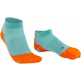 Falke RU 5 Lightweight Calze corte Donna, turchese/arancione